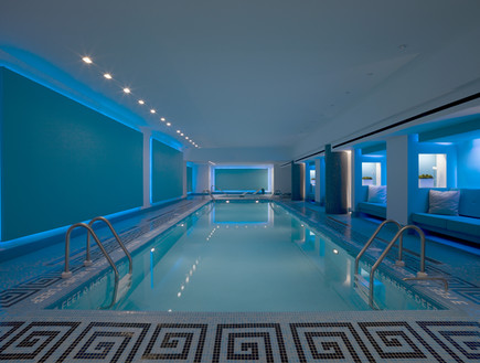 The Tiffany Building: 36 apartments, and laps at the pool. Photo: Robert Granoff