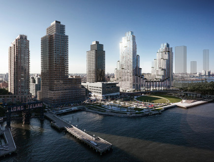 Hunters Point. 70% of the apartments are reserved for low-income tenants.  Photo: Moso Studio